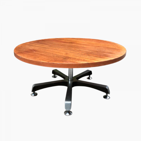 Table basse ronde années 1970