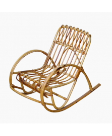 Rocking chair en rotin modèle enfant