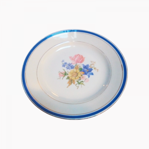 8 assiettes plates Dolly