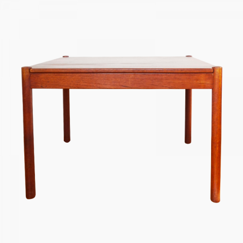 Table basse scandinave en teck 1960